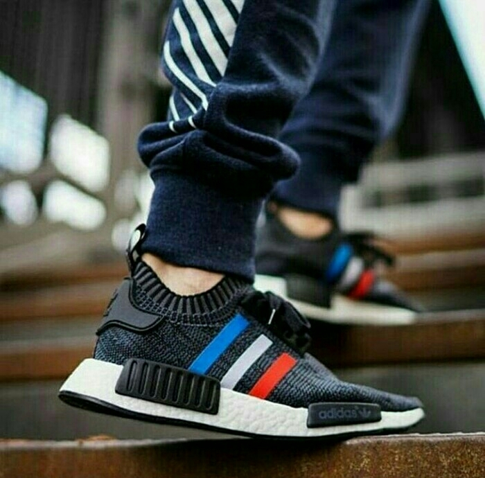 ... Sepatu Adidas Nmd R1 Pk Tricolor Premium Original Quality - Blanja.com  ... 445d627d19