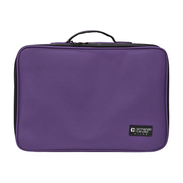 Armando Caruso 033PUR Large Soft Beauty Case, Purple thumbnail