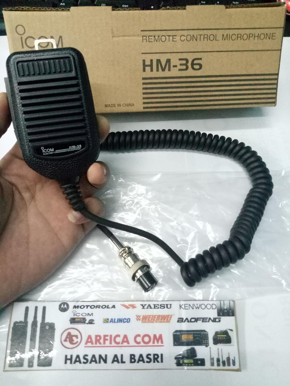 Jual EXTRAMIC RIG ICOM IC 718 HM 36 MURAH - EXTRA
