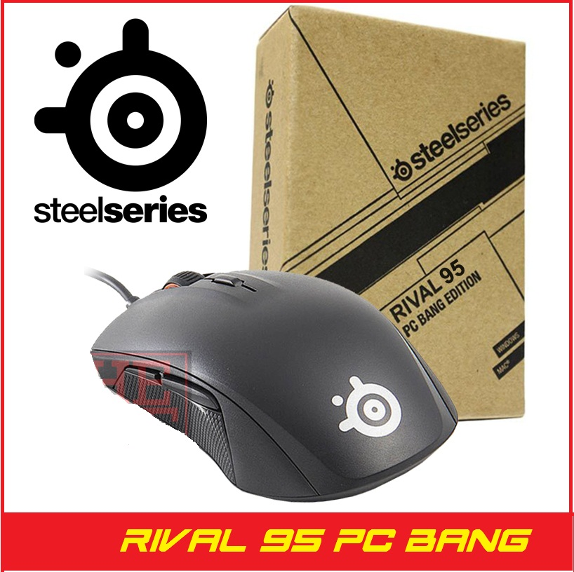 30cd513d4f5 Jual SteelSeries Rival 95 PC Bang Edition - Gaming Mouse - Jakarta Gaming  Corner | Tokopedia
