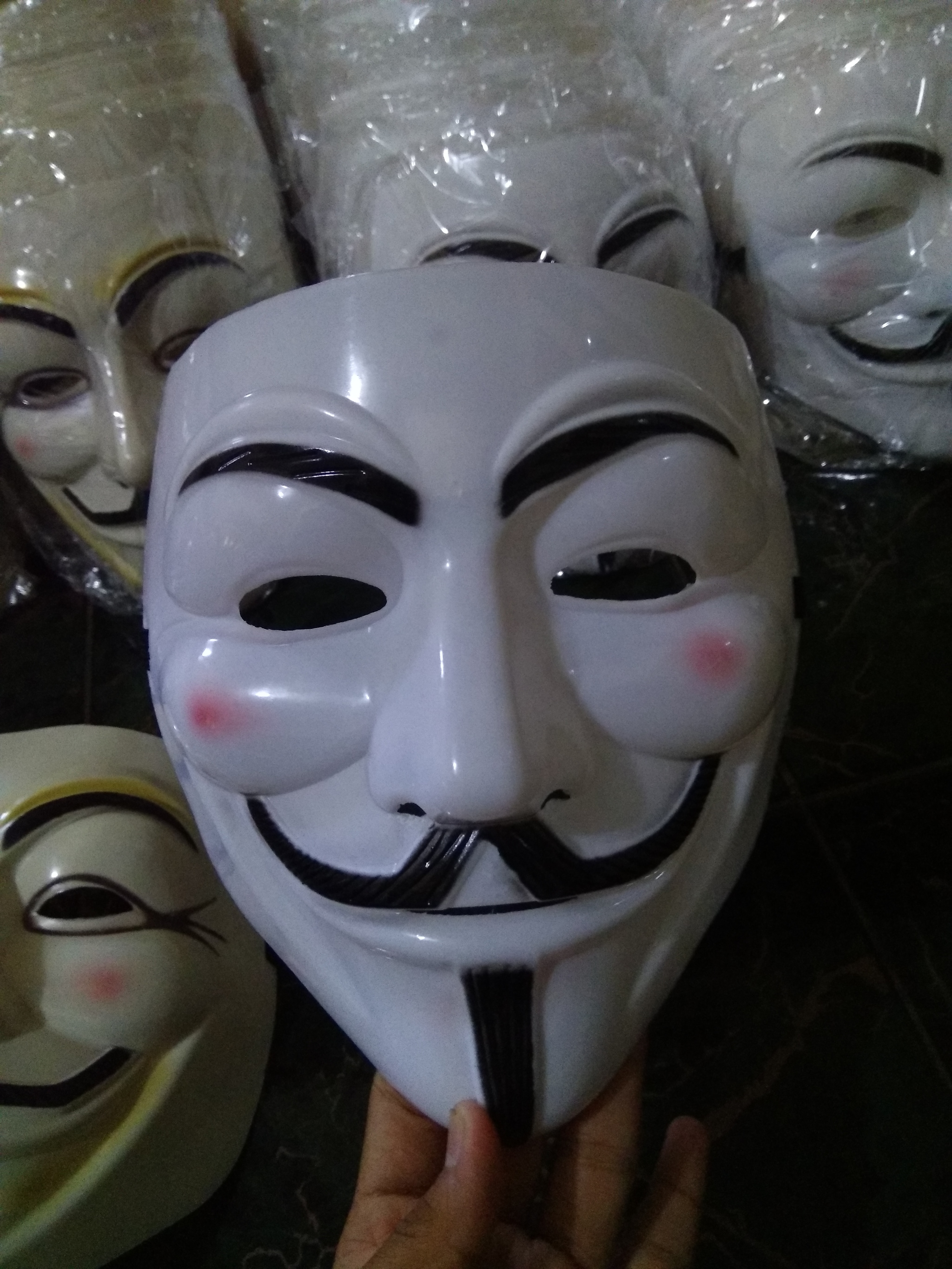 Jual Topeng Anonymous Vandetta Hacker Sala Shop Tokopedia