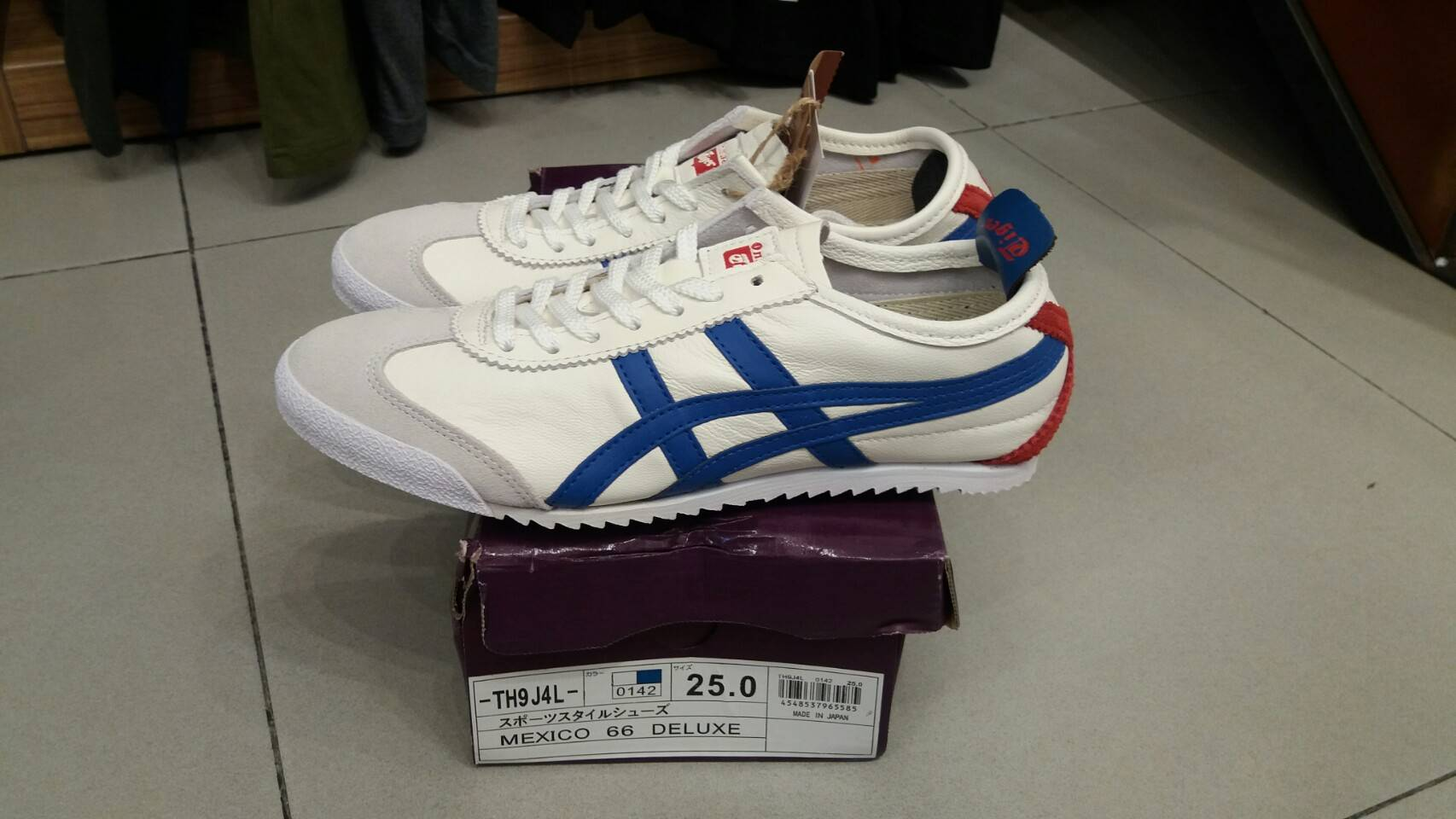 new style 9f184 6e02f Jual onitsuka tiger deluxe 66 ORIGINAL made in japan (100 ...