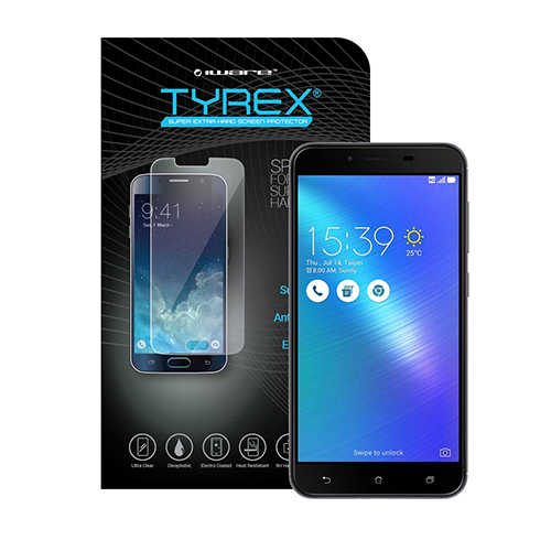 Tyrex Asus Zenfone 3 5.5 Tempered Glass Screen Protector Anti Gores