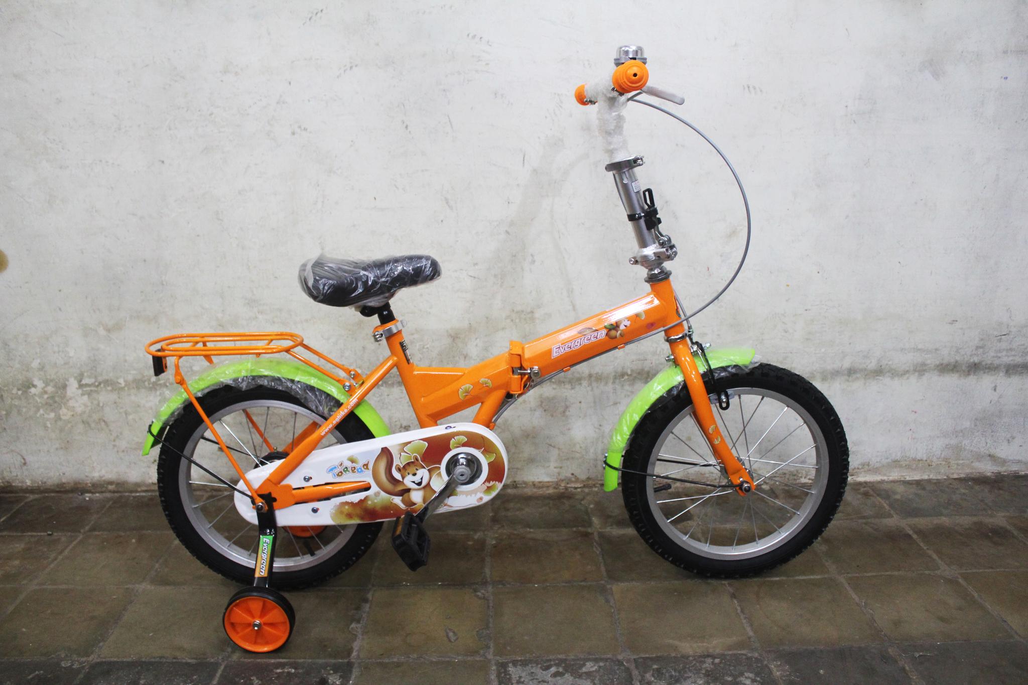 Jual Sepeda Lipat Evergreen Type 116 ukuran 16 warna