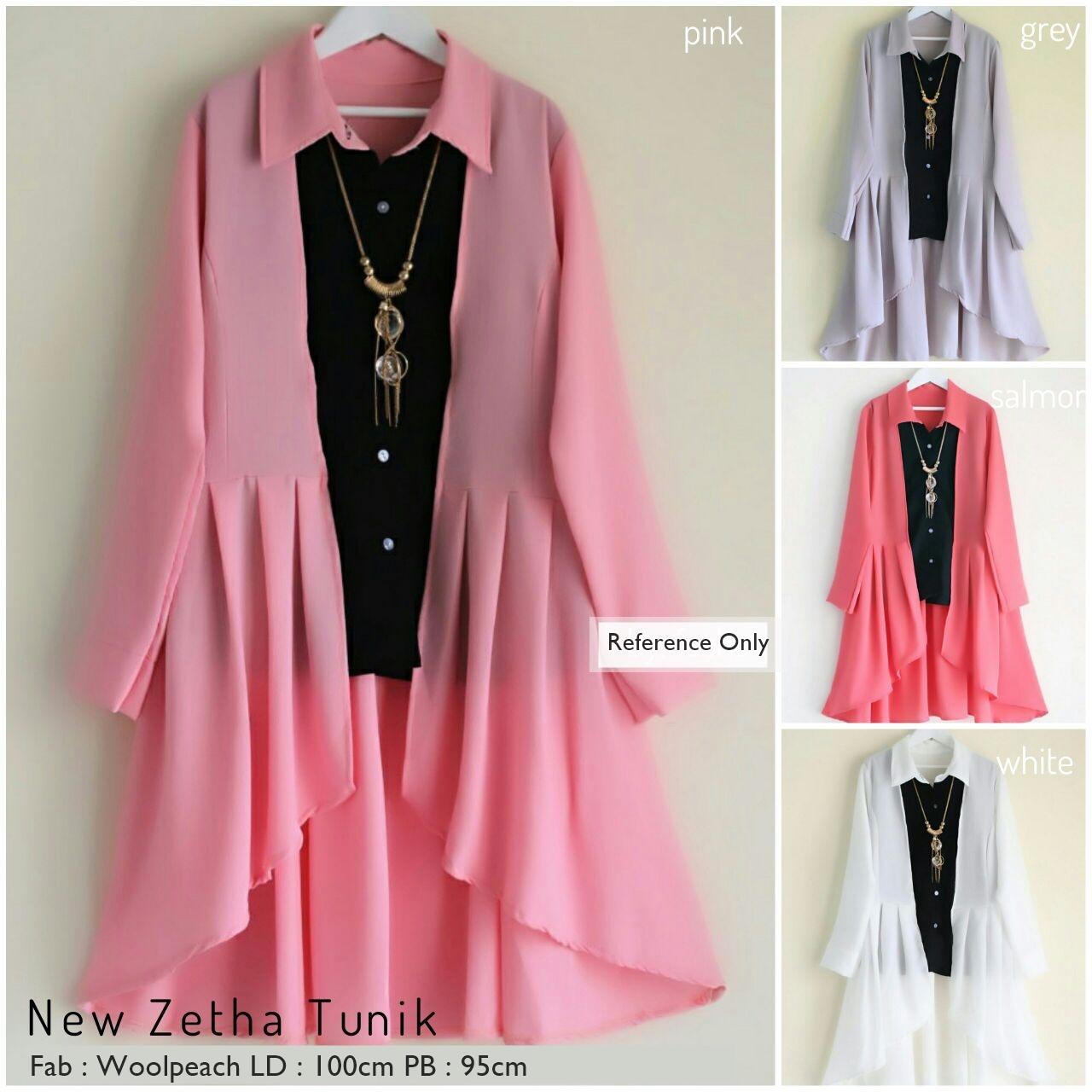 Baju Tunik Wanita Terbaru Baju Tunik Muslim Wanita Baju Atasan ... 521fb4826d