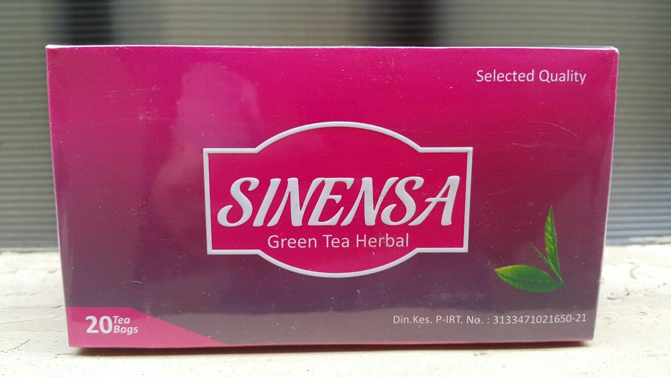 sinensa green tea herbal
