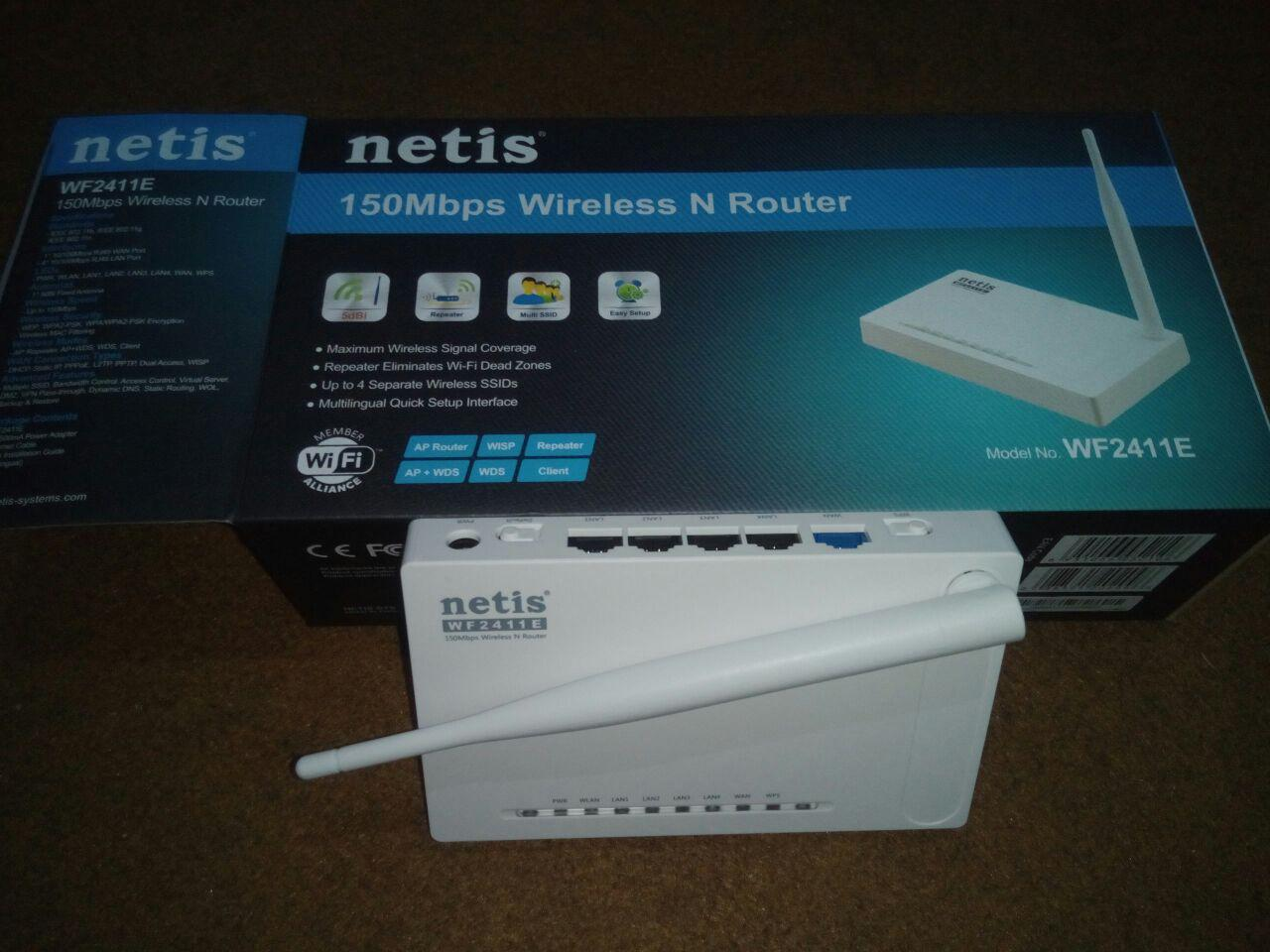 Jual Netis Wireless Router Incomnet Tokopedia Wf2411e 150mbps