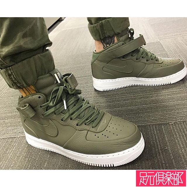 outlet store be030 a96a2 nikelab air force 1 mid urban haze