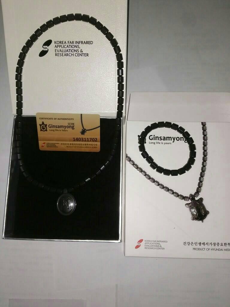 Jual Kalung Ginsamyong Kesehatan Far Infra Red Semar Mesem Shop Gimsamyong Magnetic Tokopedia