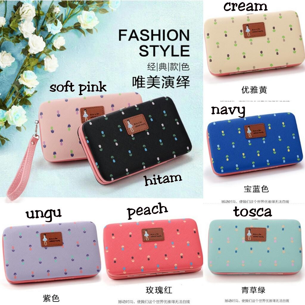 Jual Dompet Wanita Import Lady Wallet Fashion Lucu Korea Hp Barang Murah Iyalu07 Tokopedia