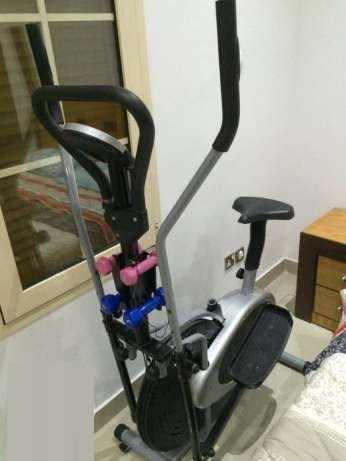 Alat Olahraga Fitness Sepeda Fitnes Statis Elliptical