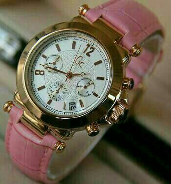 FREE BATRAI CADANGAN - Jam tangan wanita gc guci gucci tali kulit