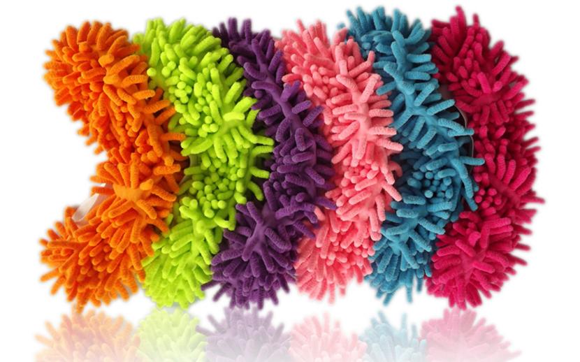 MURAH sarung sepatu microfiber pel lap pembersih lantai - hhm067
