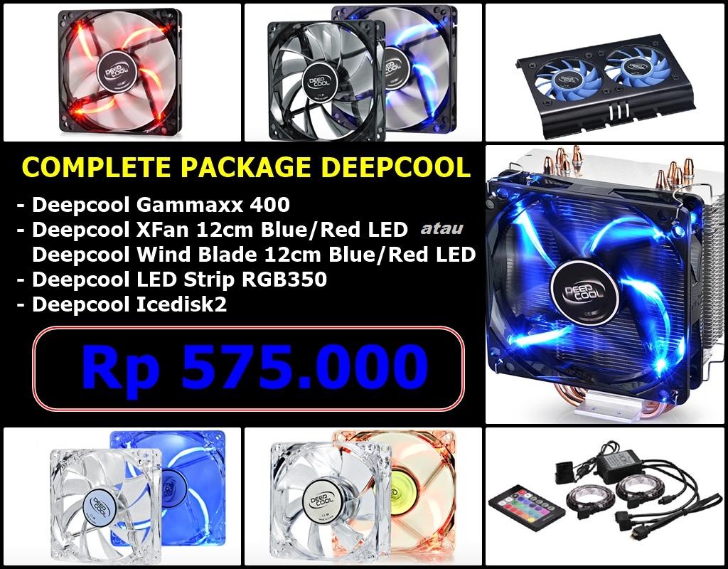 Jual Deepcool Full Package Hsf Cooler Hdd Fan Case Rgb Xfan 12cm Casing Red Led Ardy Komputer Tokopedia