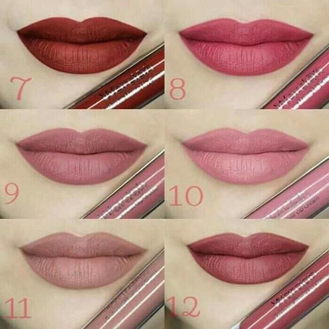 Jual Wardah Exclusive Matte Lip Cream