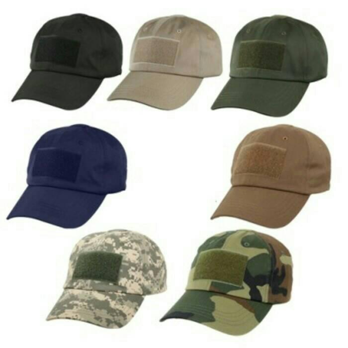 Gear Army Base Elite Military Tactical Hat TH01 Topi Tactical Mesh Perbakin IDR Source Aneka Topi