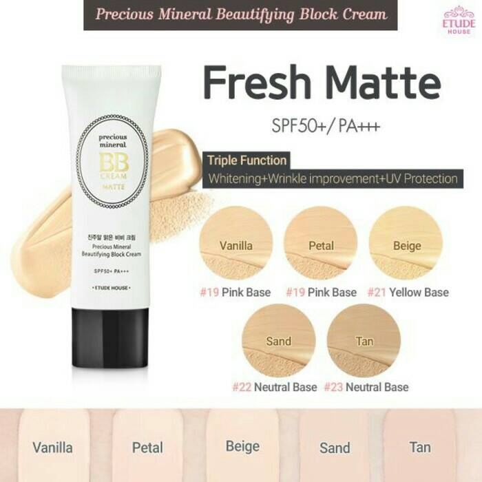 Картинки по запросу etude house precious mineral bb cream matte