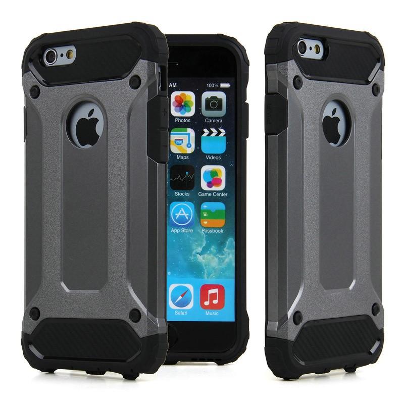 Apple iPhone SE 5 5S Defender Armor Case  Soft Gel  Polycarbonate