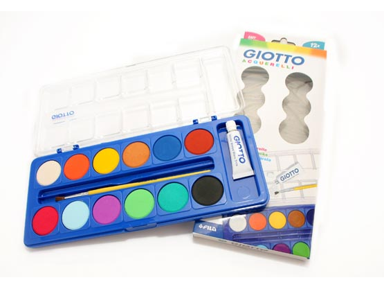 Giotto Water Color Cake