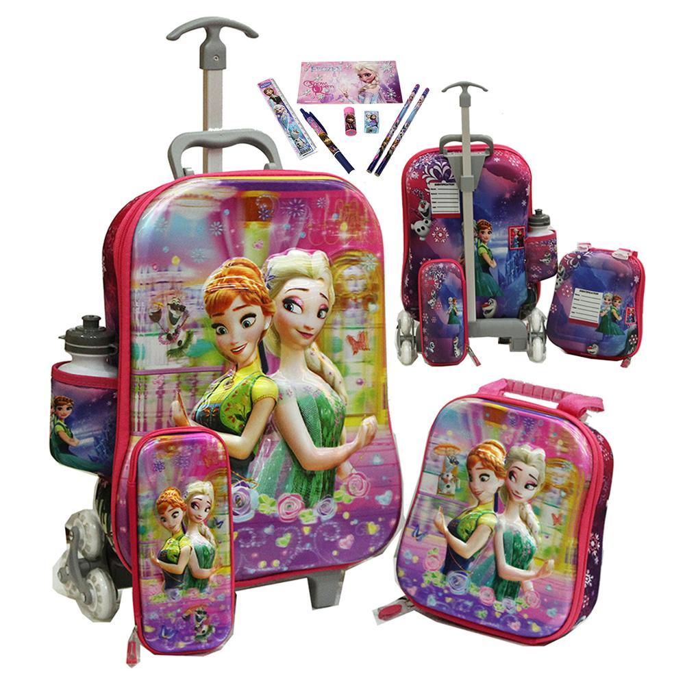 Jual Tas Trolley Anak Disney Frozen 4in1 Set 6 Roda Gagang Samurai Sekolah Sd Dan Bo S Fashion Storymu Tokopedia
