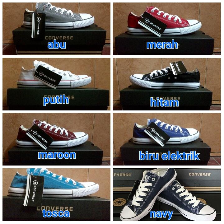 Jual Sepatu Converse all Star Murah dengan box - Tola Shops ... 2d8607891a