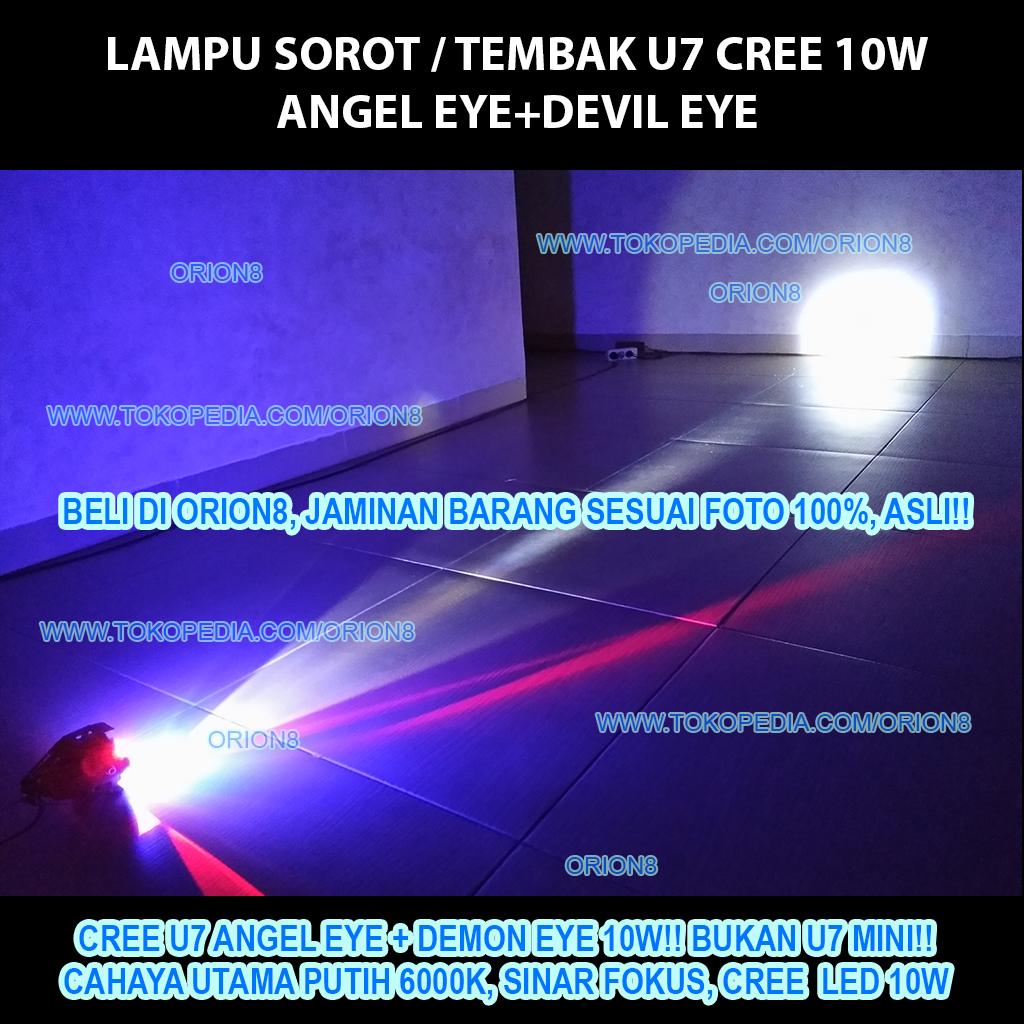 Jual LAMPU U7 CREE LED TRANSFORMER MURAH MERIAH!! - orion8 ...