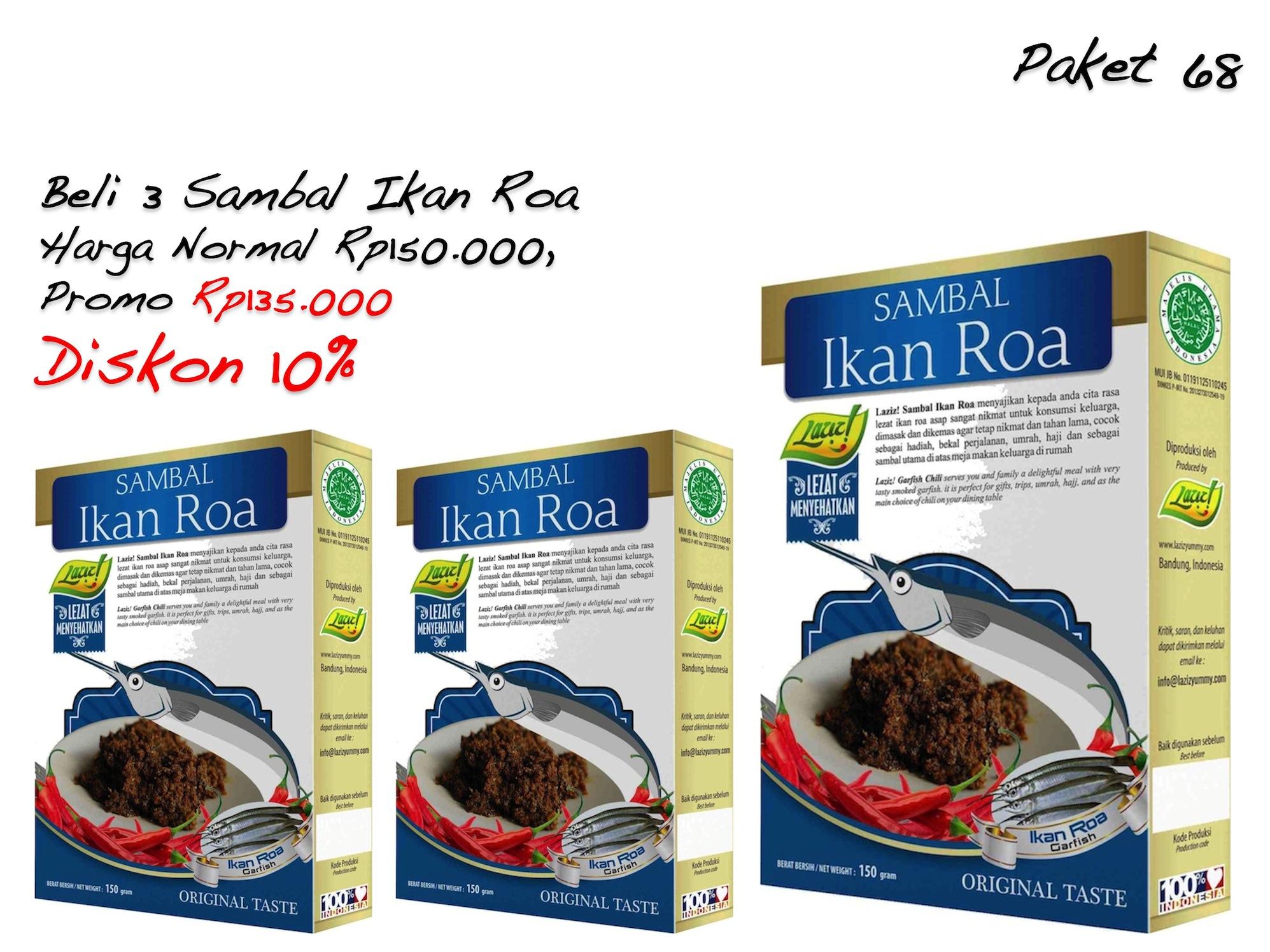 Jual Beli 3 Sambal Ikan Roa Laziz Food Tokopedia Source Sambal Cuk Paket .