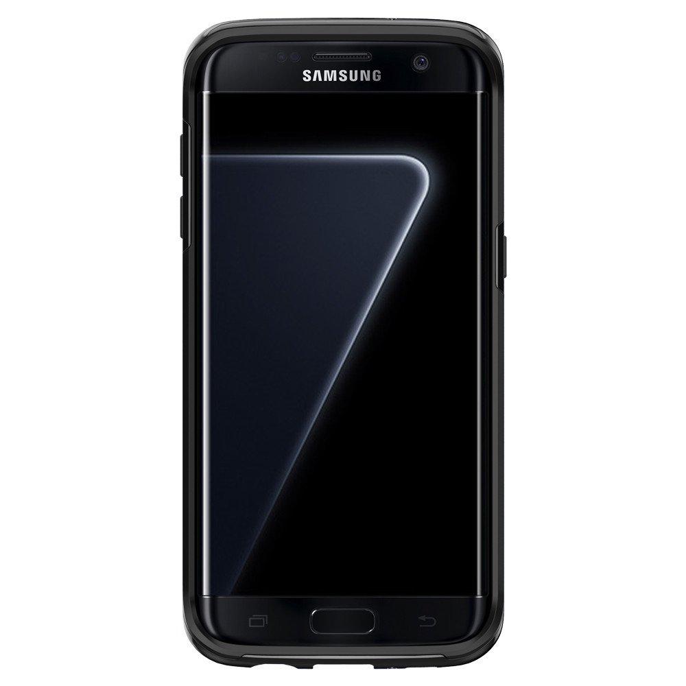 Spigen For Galaxy S7 Edge Case Neo Hybrid - Black Pearl