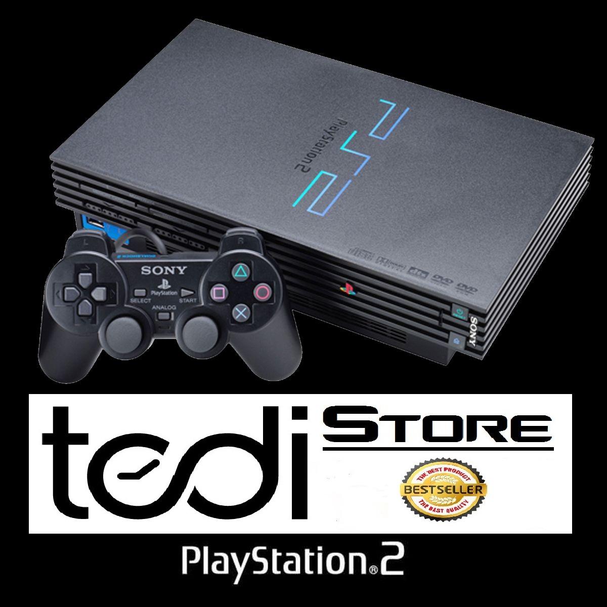 Jual Paket Komplit Sony Playstation 2 Ps2 Hardisk Eksternal 40gb External Fullgame Tedi Store Tokopedia