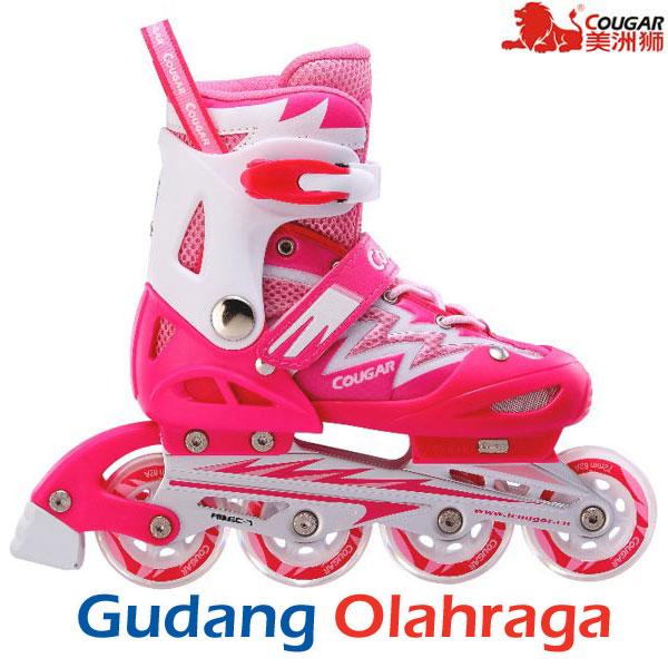 Jual Sepatu Roda Cougar Inline Skate Mzs835l Light Pink  06fce6185d