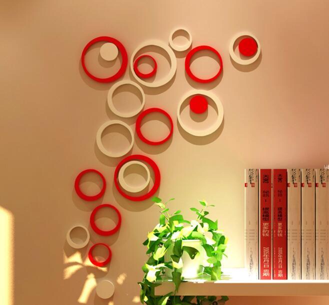 jual wall sticker 3d / sticker / stiker dinding / dekorasi / wallpaper