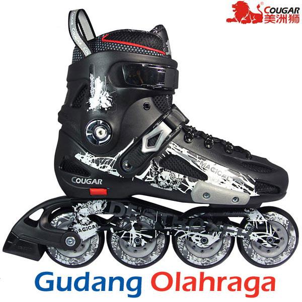 Jual Cougar Destroyer Mzs507 Sepatu Roda Slalom Inline Skate Black ... 1c9a1ab5bc