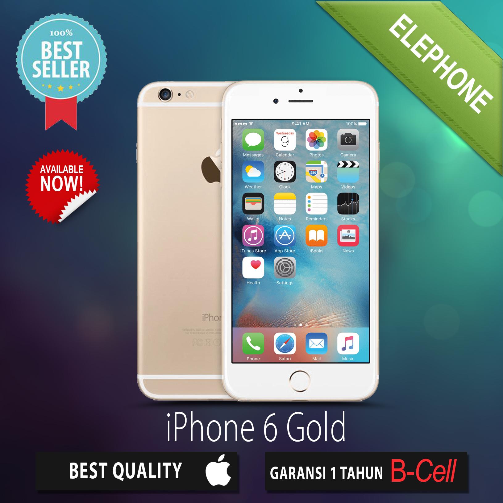 Jual APPLE IPHONE 6 GOLD 64GB