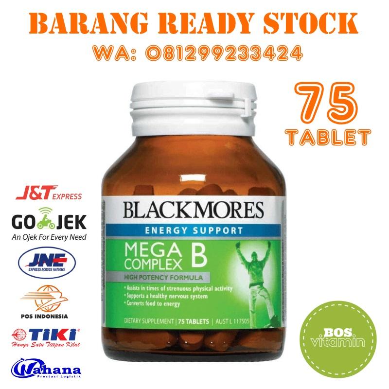Jual Blackmores Mega B Complex - 75 Tablet - Jakarta Utara