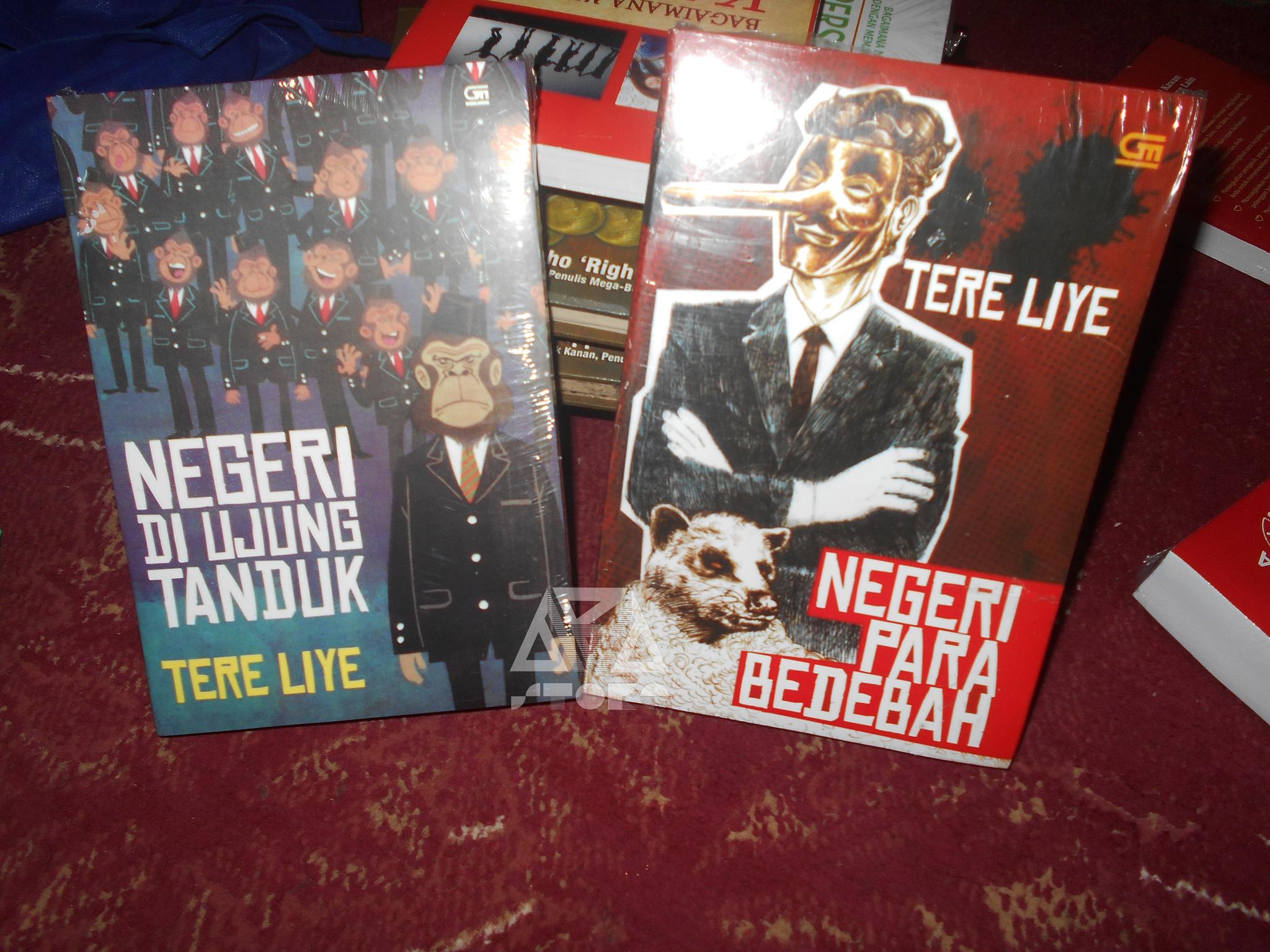 Jual Buku Novel Negeri Di Ujung Tanduk Dan Para Bedebah Tere Liye My Aba Store Tokopedia