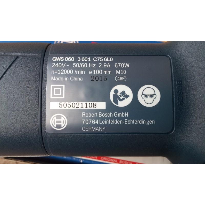 Lihat Harga Bosch Gws060 Mesin Gerinda Tangan 4 Inch Biru Di .