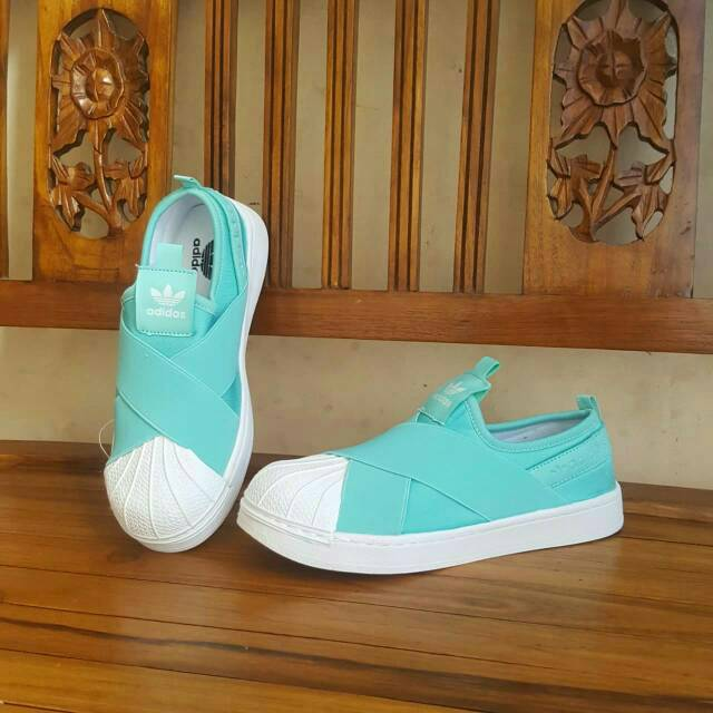 Adidas Superstar Slip On Tosca