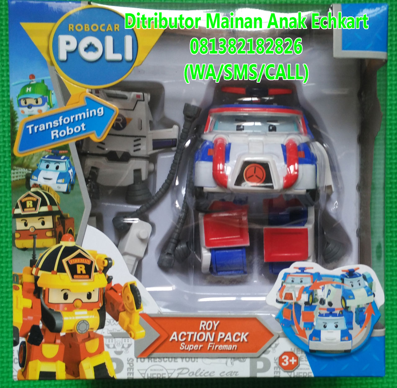 Jual Kado Mainan Anak Laki Beli Robocar Poli Space 1 Set Marine Tokopedia