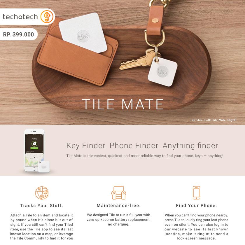 tile mate app. jual tile mate key phone wallet finder gps bluetooth tracker techotech tokopedia tile mate app i