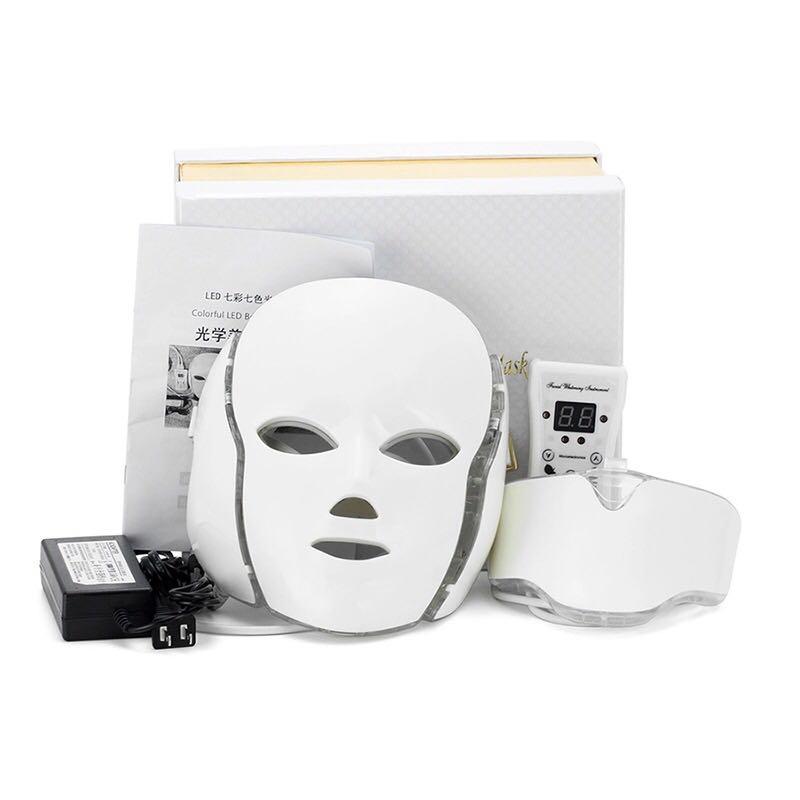 Masker Wajah LED With Neck