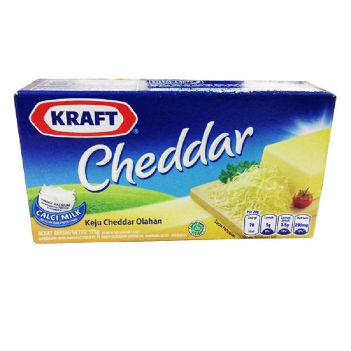Jual Keju Kraft Cheddar 175gr