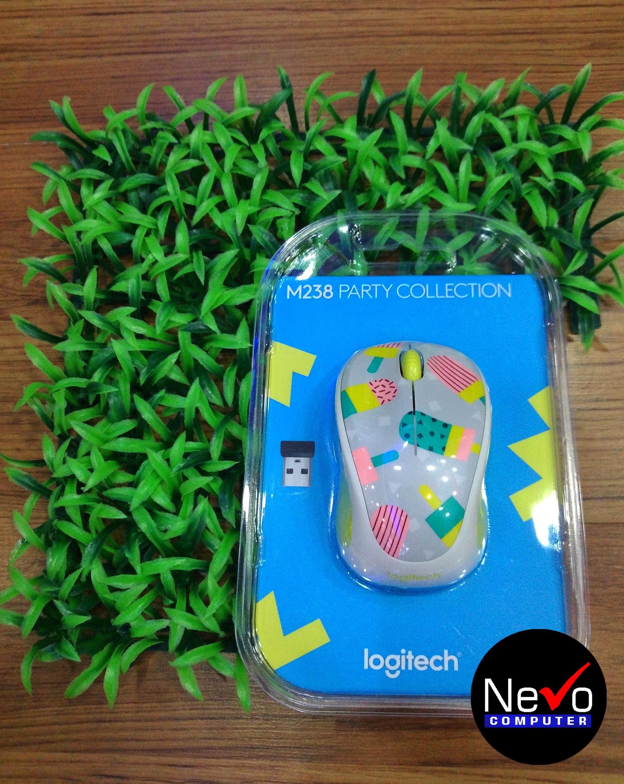 Jual Logitech Wireless Mouse M238 Party Collection Popsicles 910 Toucan 004719 Nevo Computer Tokopedia