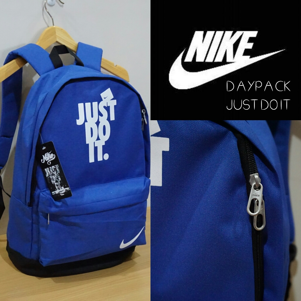Tas Ransel Nike Just Do It Multifungsi Sekolah Must Muss Ramadhan Travel Bag Olahraga Detail Produk