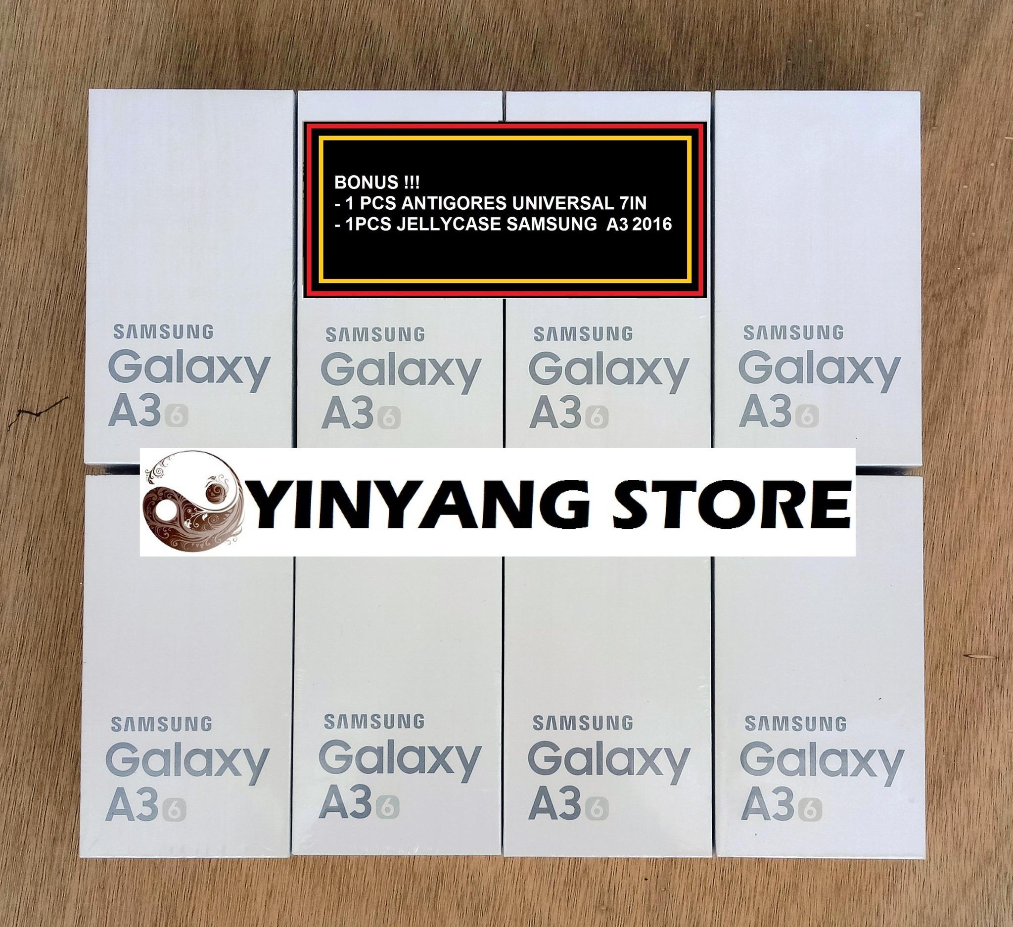 Jual Samsung Galaxy A3 2016 Dual Sim Garansi Resmi Sein Antigores 16gb Gold Indonesia Bening Yinyang Store Tokopedia