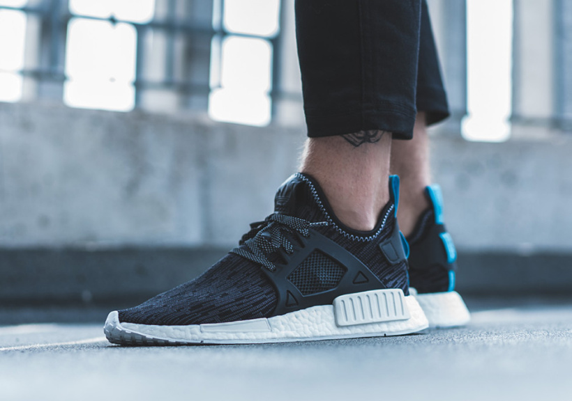 01719f9de5300 Adidas Nmd Xr1 Black Blue kenmore-cleaning.co.uk