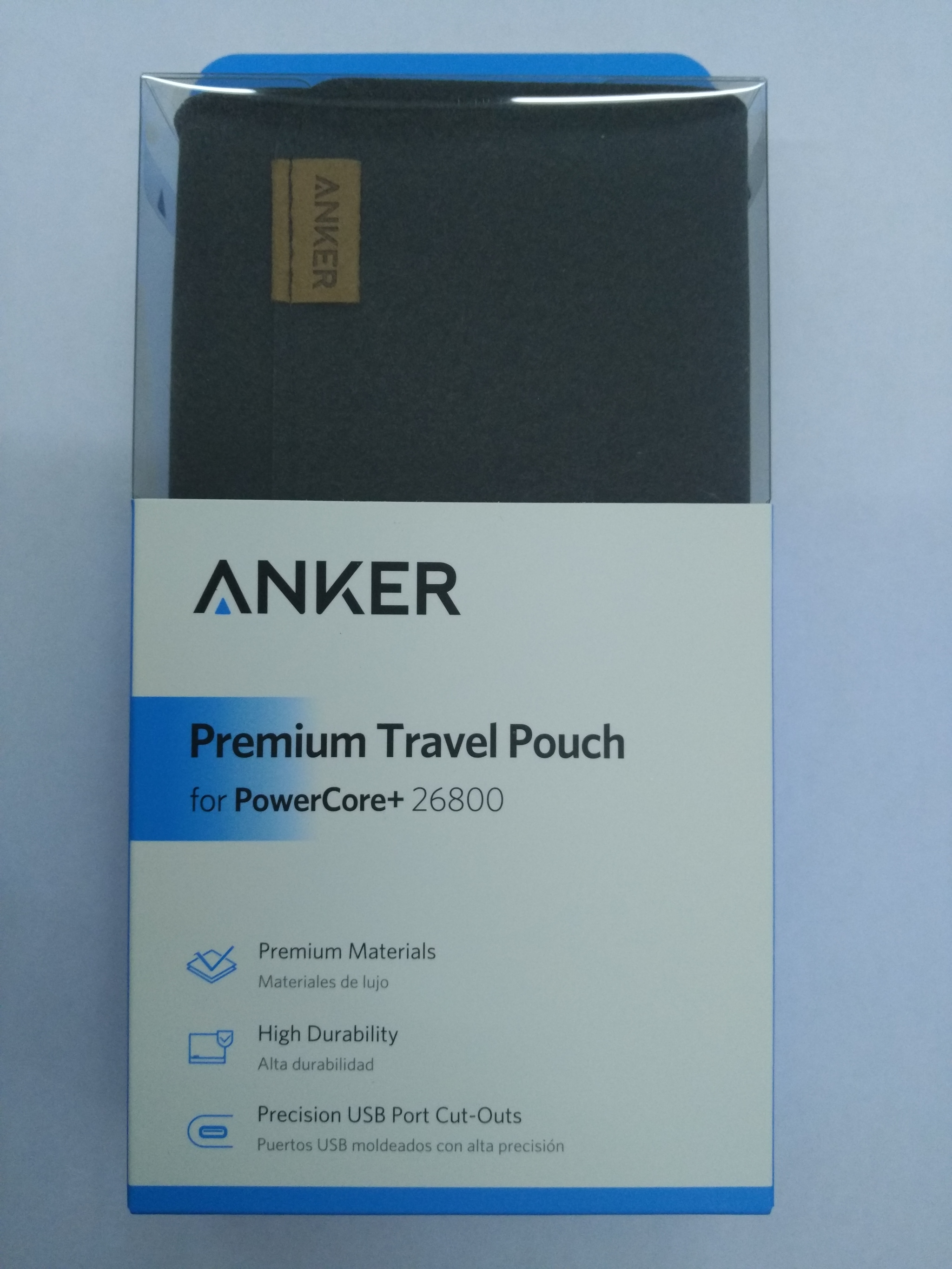 Anker Premium Travel Pouch For Powercore+ 26800 [A7099081] - Blanja.com