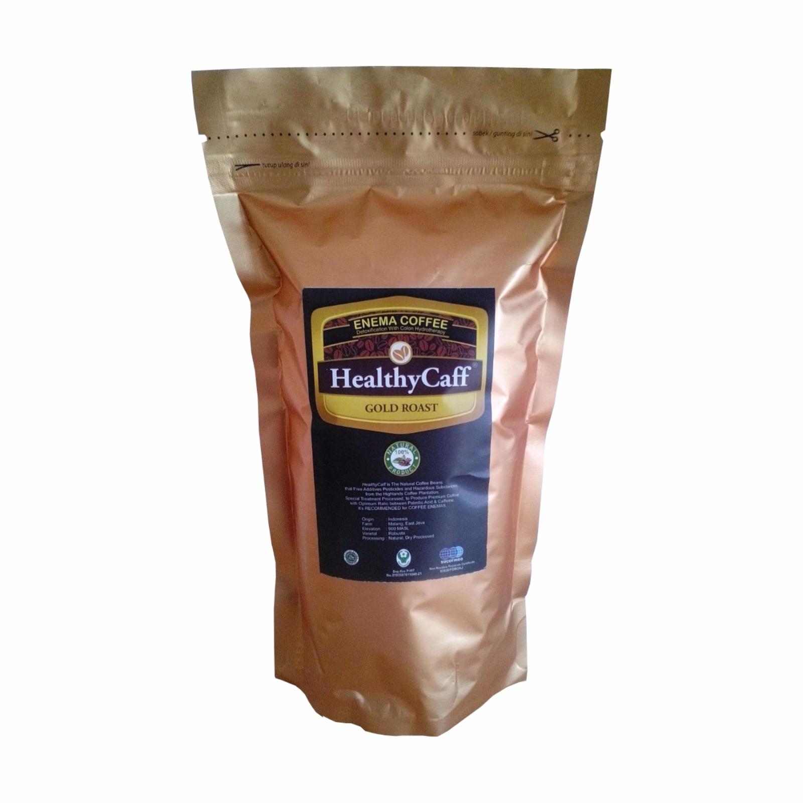Kopi Enema Gold Roast Healthycaff Daftar Harga Terlengkap Indonesia Paket Terapi Gerson Alat Robusta Organik Jual
