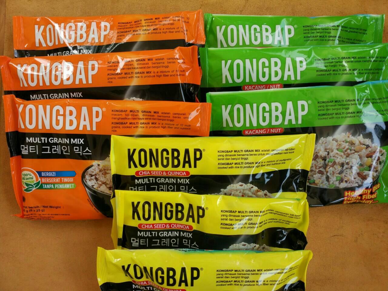 Jual Termurah Kongbap Original Chiaseed Quinoa Multi Grain Mix Kacang Maridibeeli Tokopedia