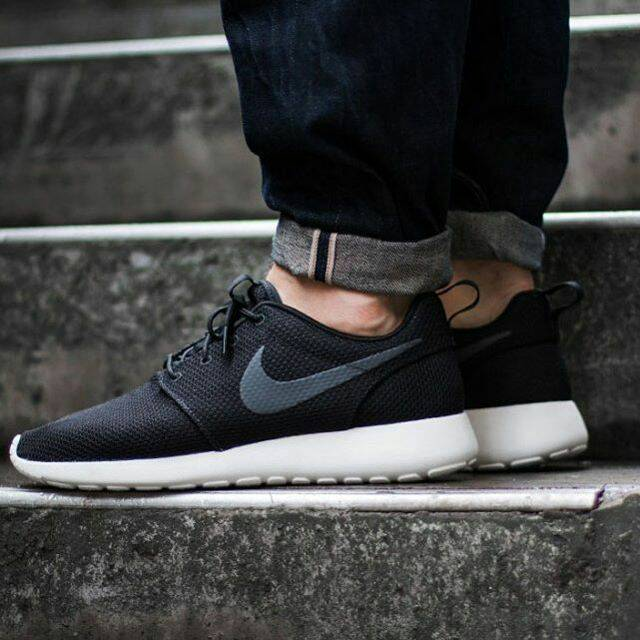 ... official store nike roshe one black sail anthracite original made in  indonesia 247c8 520b5 299b29c96a1