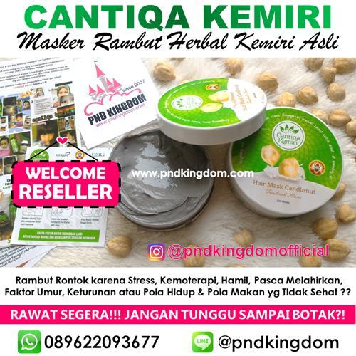 Best Seller : Cantiqa Kemiri Hair Mask  - Blanja.com